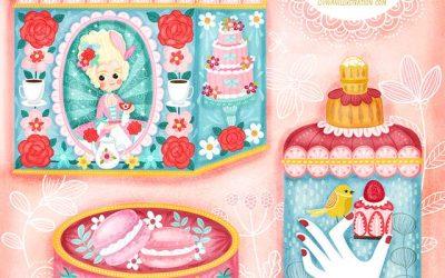 Lady Rococo Tin Boxes Design