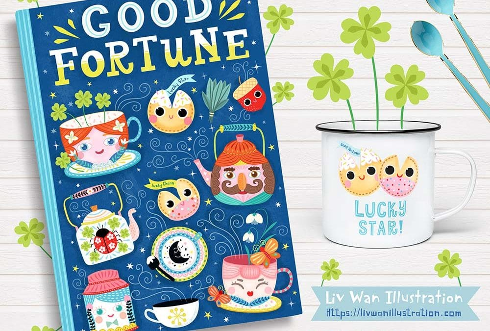 Good Fortune Book Cover Design