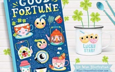 Good Fortune Book Cover Design