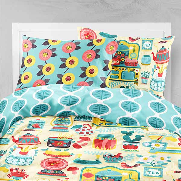 hobby kitchen bedding
