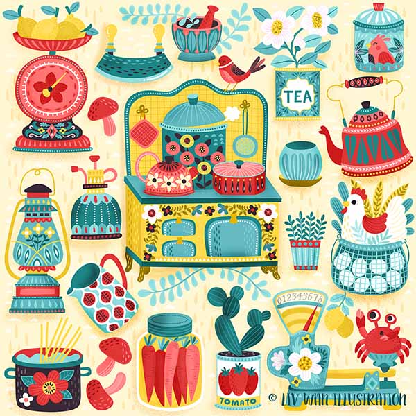 hobby kitchen pattern