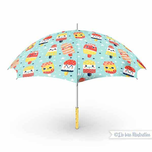 ice lolly umbrella