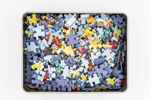 uk map jigsaw puzzle