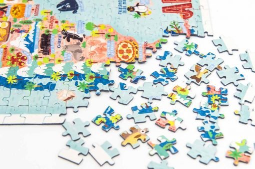argentina map jigsaw puzzle