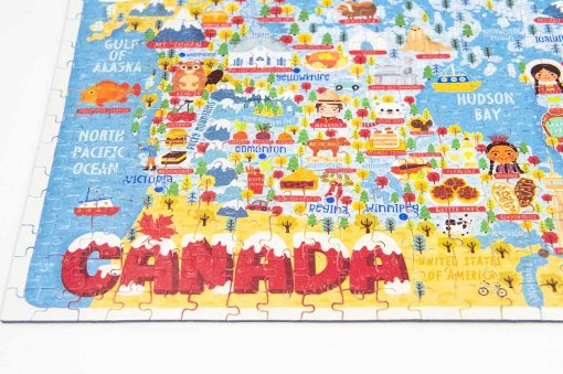canada map jigsaw puzzle