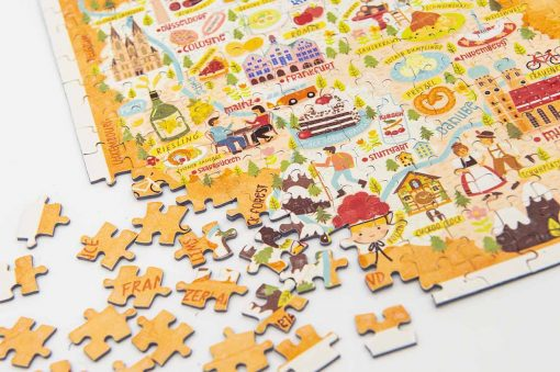 germany map jigsaw puzzle