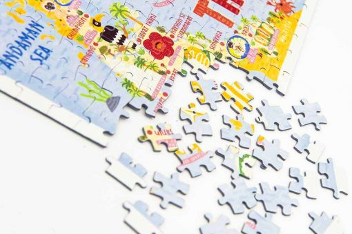 thailand map jigsaw puzzle