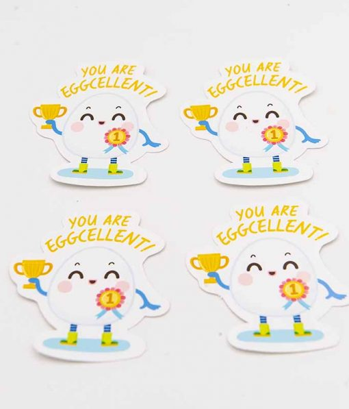 You Are Eggcellent Food Pun Sticker