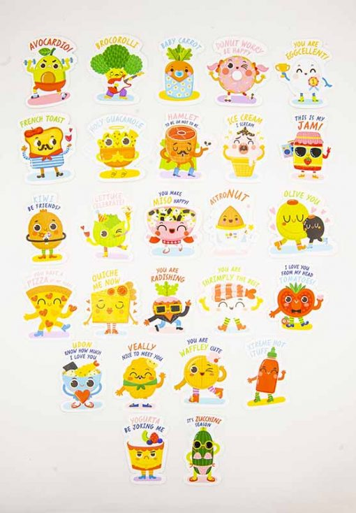 mix and match stickers