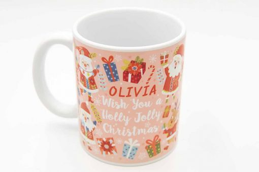 Wishing You A Holly Jolly Christmas Mug