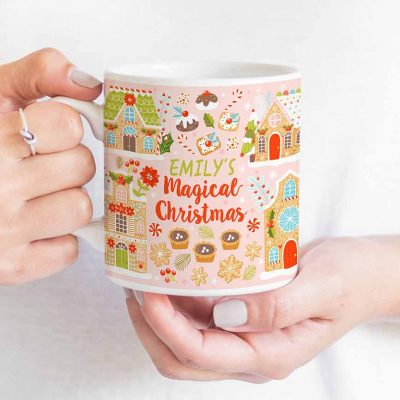 magical christmas mug