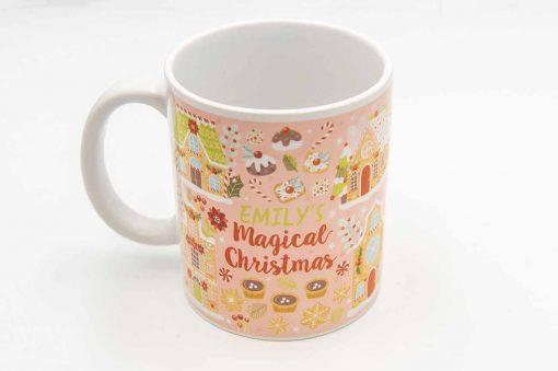 magical christmas mug