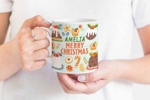 sweet xmas mug