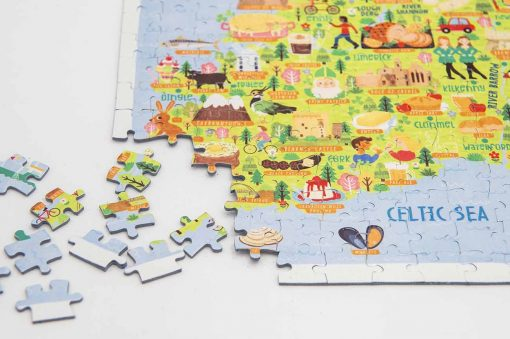 Ireland Map Jigsaw Puzzle