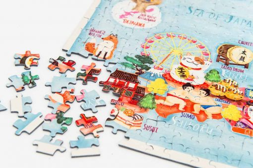 japan map jigsaw puzzle