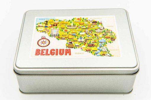 belgium map jigsaw puzzle