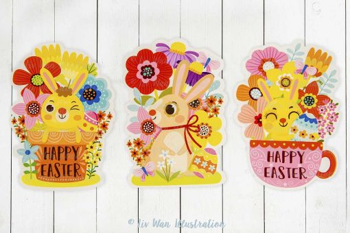 Easter Bunny Spring Collection