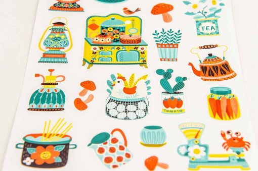 Hobbyist Kitchen Sticker Sheet