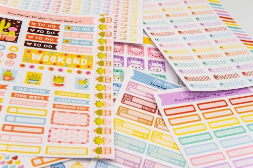 weigh in planner stickers