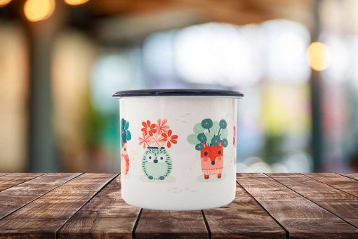 Plant Lovers Enamel Mug