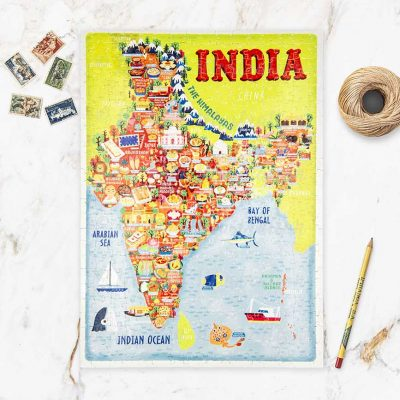 India Map Jigsaw Puzzle