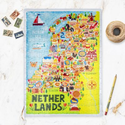 Netherlands Map Jigsaw Puzzle