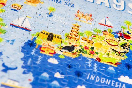 Malaysia Map Jigsaw Puzzle