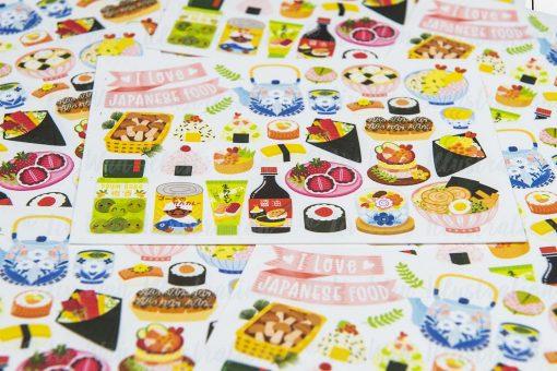 I Love Japanese Food Postcard