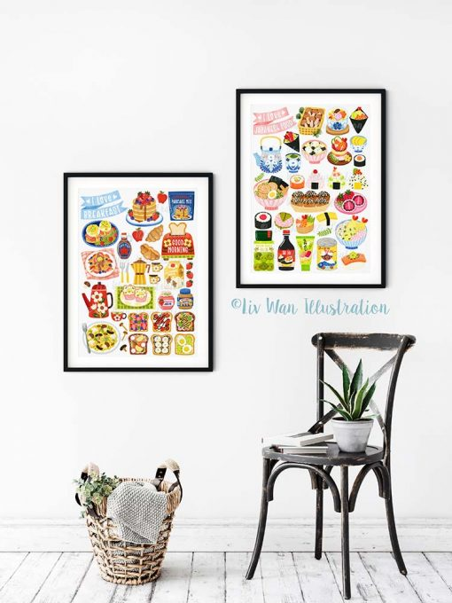 Japanese Food Poster