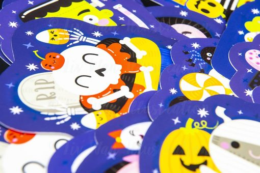 Halloween Cupcake Postcard Collection