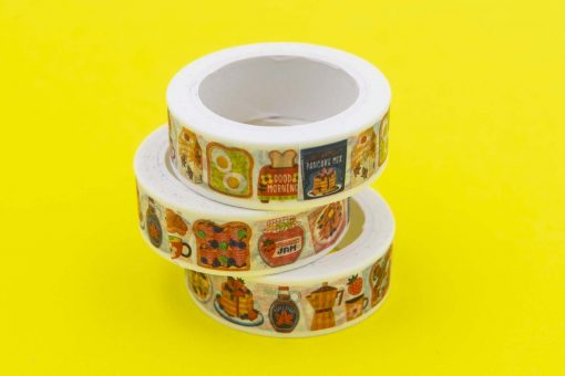 Breakfast Washi Tape