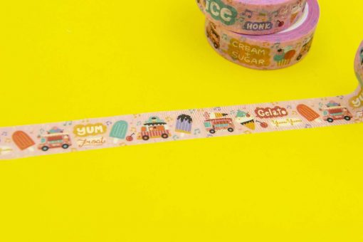 Ice Cream Van Washi Tape