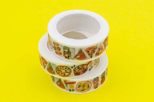 italian food washi tape