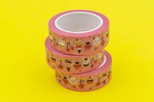 Pink Ice Cream Washi Tape