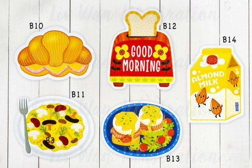 breakfast postcard collection