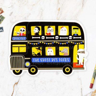 Ghost Bus Postcard