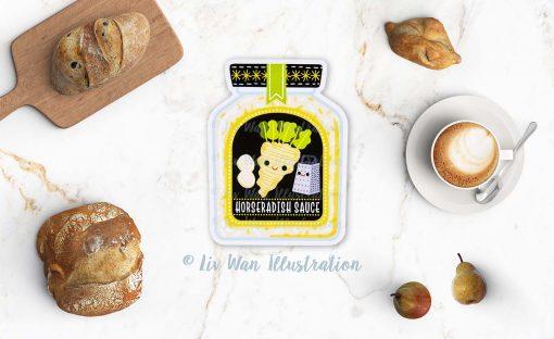 Horseradish Postcard