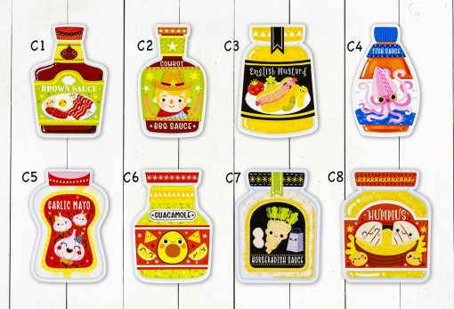 Condiments Postcard Collection