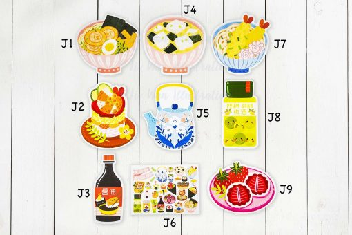 Japanese Food Postcard Collection
