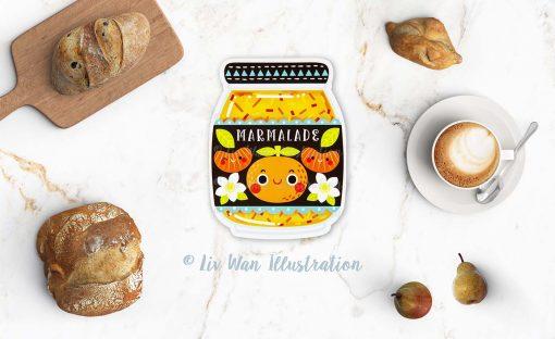 Marmalade Postcard