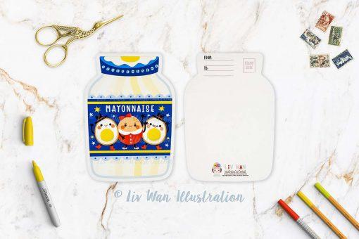 Mayonnaise Postcard