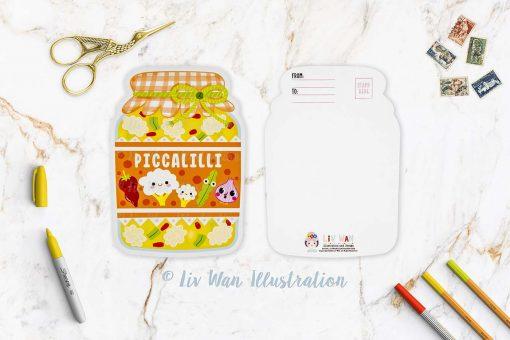 Piccalilli Postcard
