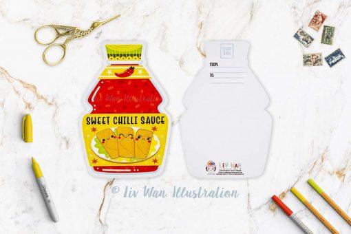 Sweet Chilli Sauce Postcard