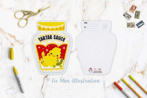 Tartar Sauce Postcard