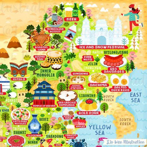 china map detail